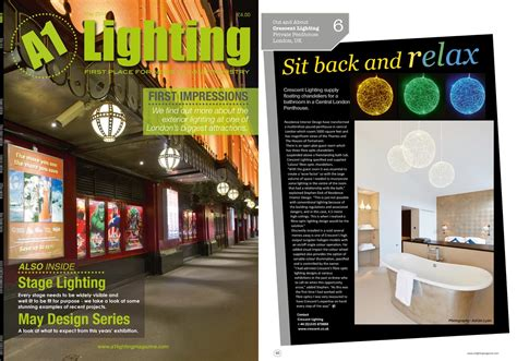 design magazine london a1 lighting may 2014 residence interior design london