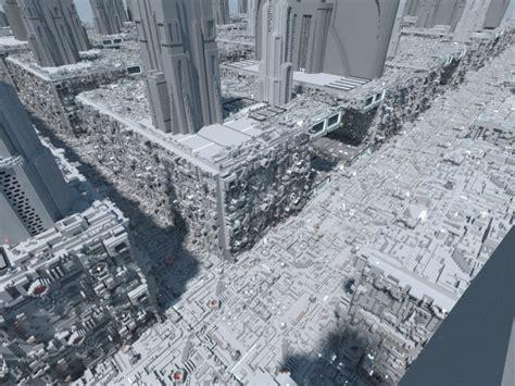 coruscant star wars minecraft building