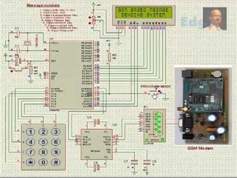 gsm connected notice board using avr atmega16 doovi