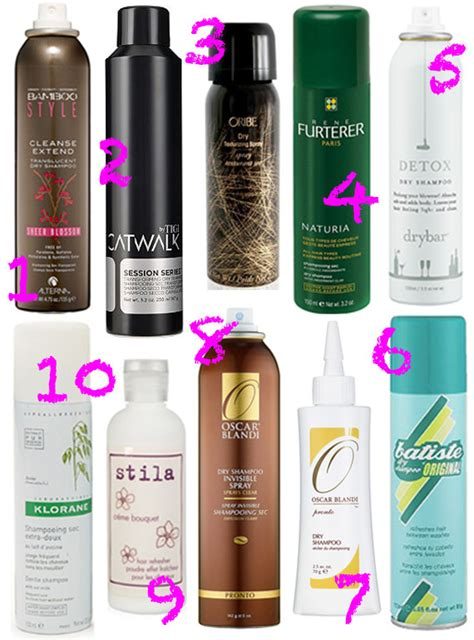 best hair brand for thin hair best dry shoos the top 10 products to hide your greasy
