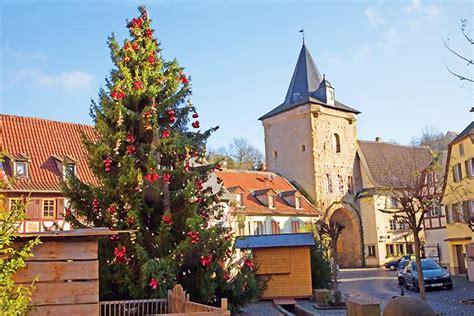 Weihnachten In Einer Berghütte by Weihnachten In Einer Kleinstadt Meisenheim Bild Foto