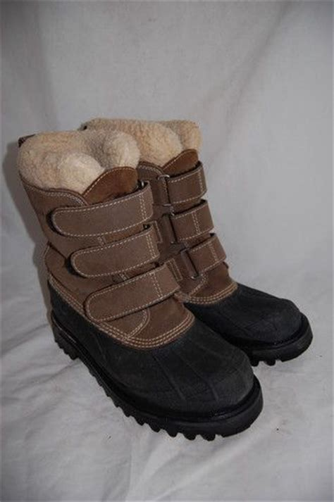 womens ll bean removable warm insulated snow winter rubber