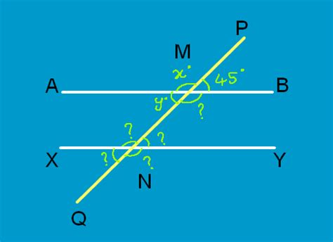 Transversal Lines | Transversal Lines and Angles | Math ... Line Geometry Example