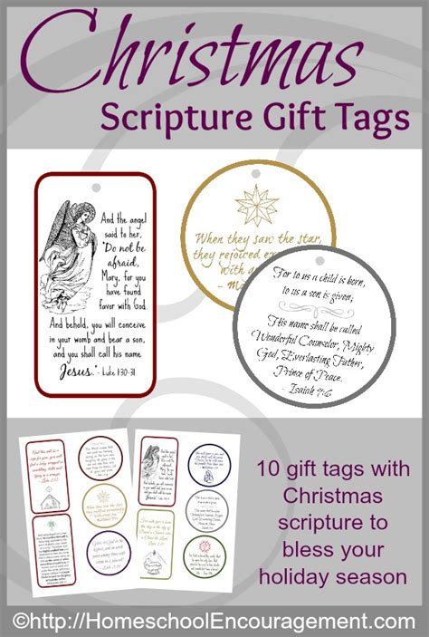 printable christmas tags religious free christmas scripture gift tags proverbial homemaker