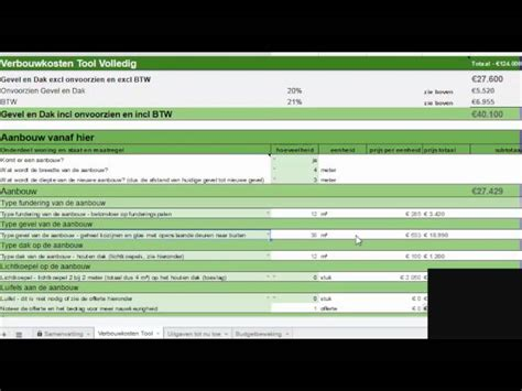 Uitbouw Kosten Per M2 by Kosten Uitbouw 2018 Kosten Tabel En Prijs Per M2