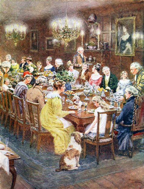 historical dinner in america at the turn of the 20th century
