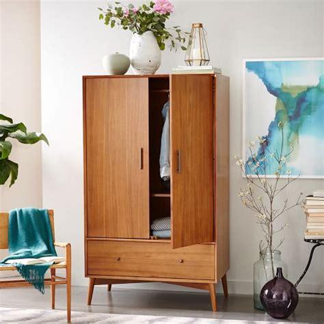 west elm armoire mid century wardrobe acorn west elm