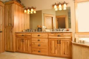 Natural Hickory Kitchen Cabinets affordable custom cabinets showroom