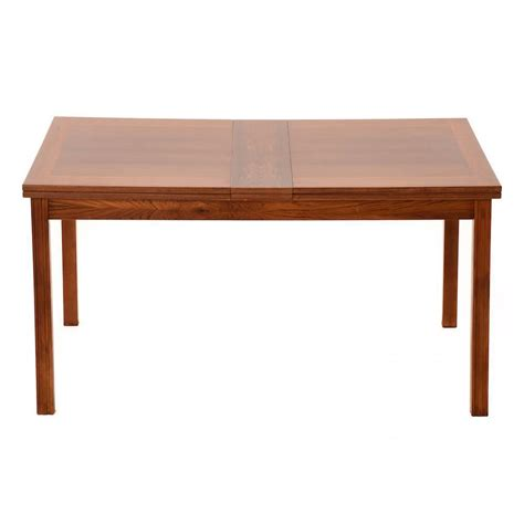 dining room extension table danish modern rosewood dining extension table at 1stdibs