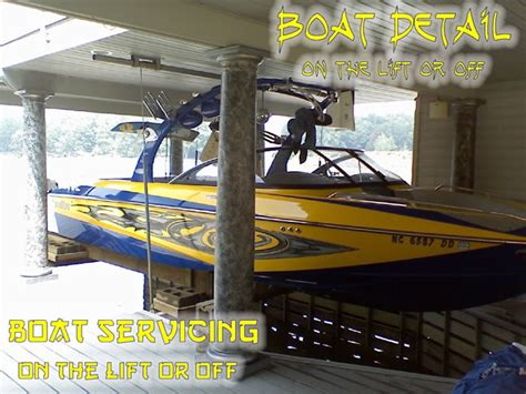 winterizing a malibu ski boat mobile boat repair boat detailing on the lift or off