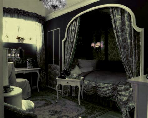 goth room gothic princess bedroom