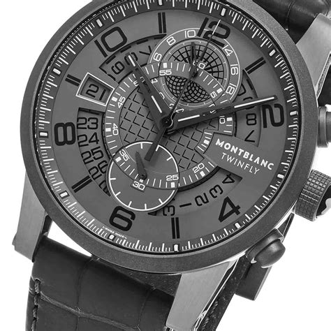 Montblanc Flyback Leather Bw For montblanc timewalker tmw flyback automatic 107338 premium timepieces touch of modern