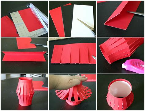 How To Make Lantern At Home With Paper - paper lanterns tauni co