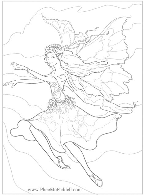 coloring pages of mermaids and fairies mermaid princess fairy coloring page coloring home