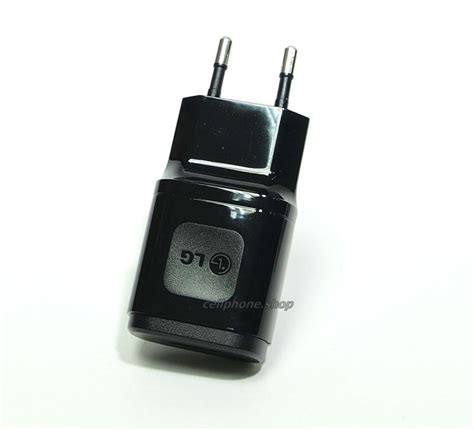 Diskon Lg Original Travel Adaptor For Lg G3 Hitam Termurah genuine lg wall charger original eu 1 8a black travel
