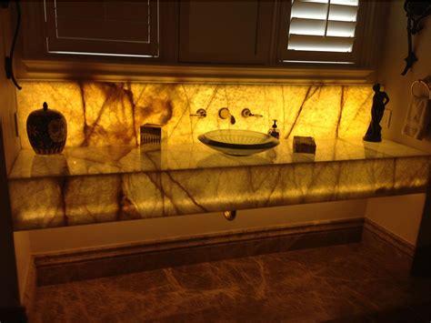 Backlit Onyx Countertop by Granite Countertops Orlando