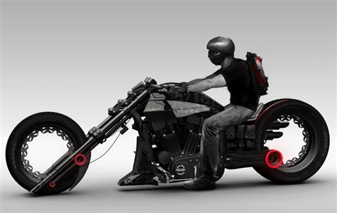 fuetueristik chopper motosiklet tasarimi