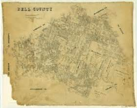 map of bell county bell county the portal to history