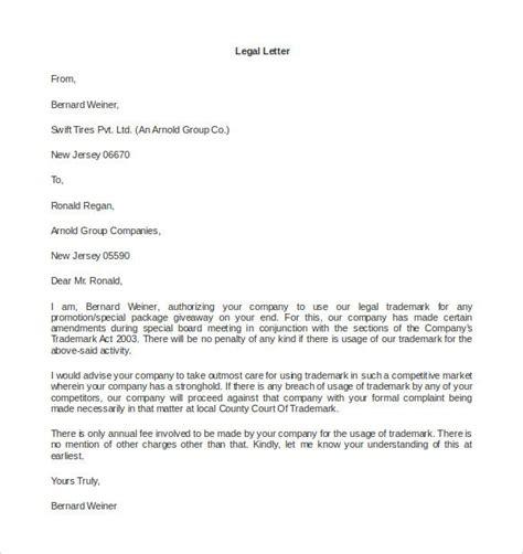 legal letter templates premium