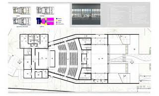 Cultural Center Floor Plan by Nassau Community Cultural Center Randy Seraphin Archinect