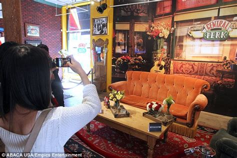 sofa shops in york central perk coffee shop opens in new york to celebrate