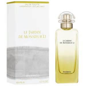 hermes le jardin de monsieur li perfumes colognes