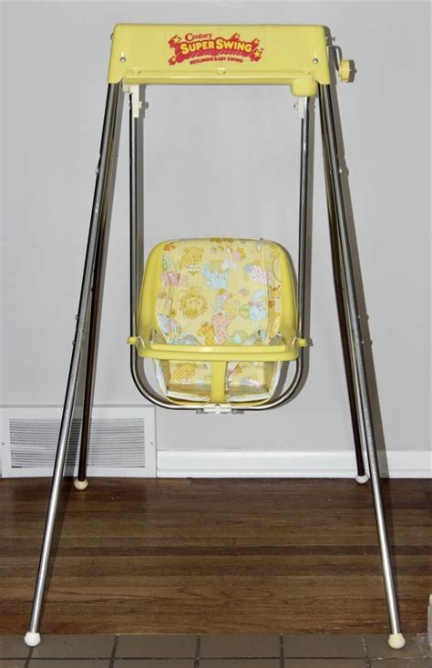 80s baby swing vintage century baby swing wind up excellent 80 s 90 s