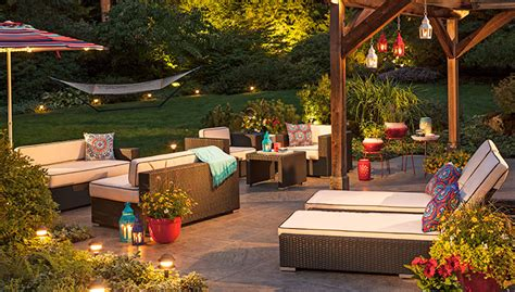 lighting ideas for outdoor living