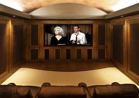 home entertainment design inc gentleman s pub traditional home theatre portland