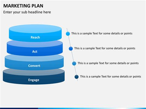 One Level Home Plans by Marketing Plan Powerpoint Template Sketchbubble
