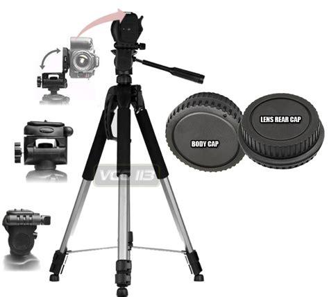 Tripod Nikon 72 quot size tripod for nikon d3200 d7000 d5100 d3100 d300s lens rear cap ebay