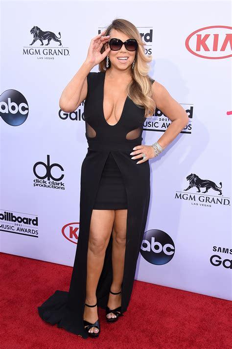 mariah carey s billboard music awards makeup pret a reporter mariah carey s billboard music awards performance left