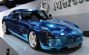 Electric Mercedes Mercedes Sls Amg Electric Drive 2012 Motor