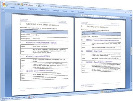 free sop templates microsoft word template business idea