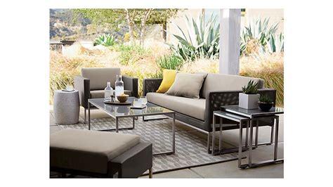 dune lounge chair  sunbrella cushions reviews crate  barrel