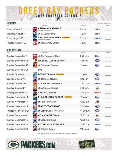 printable entire nfl schedule printable full nfl schedule autos post