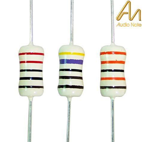 resistors for audio audio note silver tantalum non magnetic resistors hifi collective