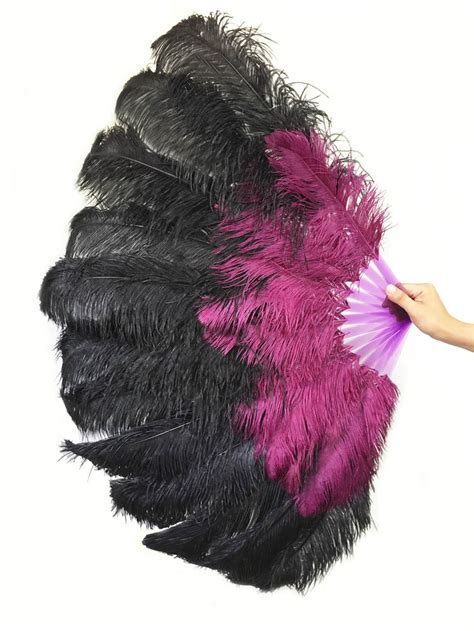 large feather fans large ostrich feather fans best fan imageforms co