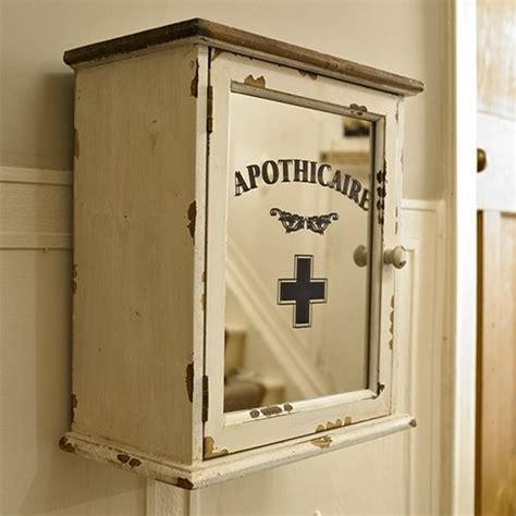 french grey mirrored wall cabinet distressed bathroom 108 best images about first aid on pinterest medicine