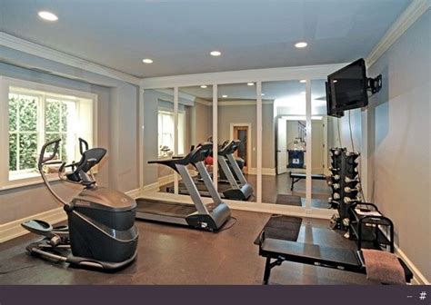 best 25 room ideas on basement basement workout room and decor