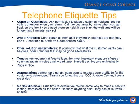 7 Crucial Tips On Telephone Etiquette director admissions records enrollment technology
