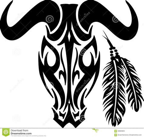 tribal longhorn tattoo tribal cow skull pictures to pin on