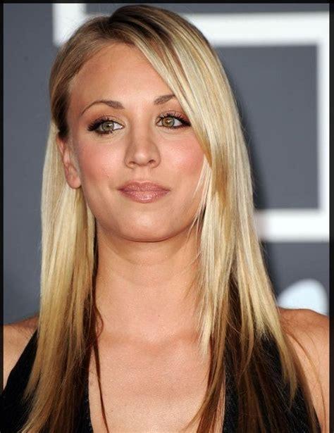 blonde on top darker blonde on bottom blonde hair on top dark brown underneath women