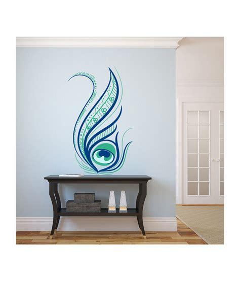stylish wall stickers destudio beautiful stylish floral decorated peacock
