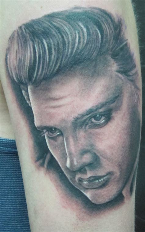 elvis tattoo elvis by stilbruch on deviantart