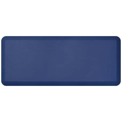 newlife comfort mat newlife designer leather grain navy 20 in x 48 in anti
