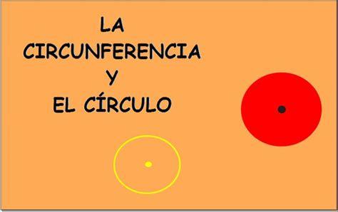 el crculo de la el c 237 rculo y la circunferencia recurso educativo 33488 tiching