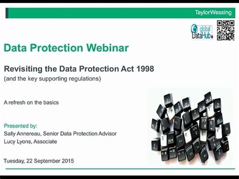 data protection act 1998 section 29 download certified in data protection cdp video fashion
