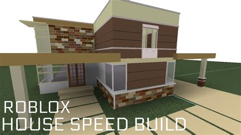 build the house roblox speed build house f3x building youtube