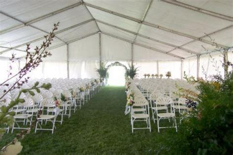 LT&A SUPER TENT® DECORATED WITHOUT LINER FOR WEDDING